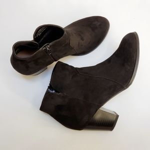 Style & Co Faux Suede Ankle Boots